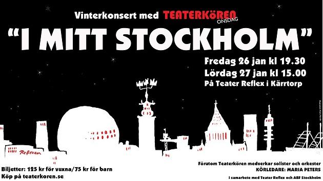 konsert stockholm 26 januari